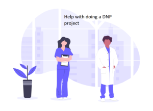 Help with doing a DNP project